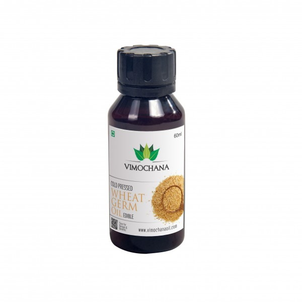 COLD PRESSED, WHEAT GERM OIL, EDIBLE – 60 ML