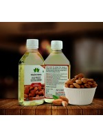 COLD PRESSED SWEET ALMOND OIL, EDIBLE-180 ML