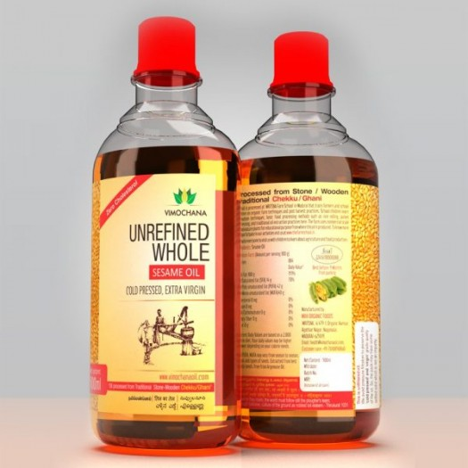 COLD PRESSED SESAME OIL 1 LITRE