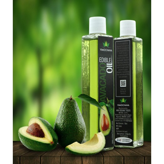 COLD PRESSED, AVACADO OIL, EDIBLE-50 ML